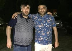 """Rəşad Dağlı """"bıçaqladığı"""" həmkarı ilə - FOTO"""