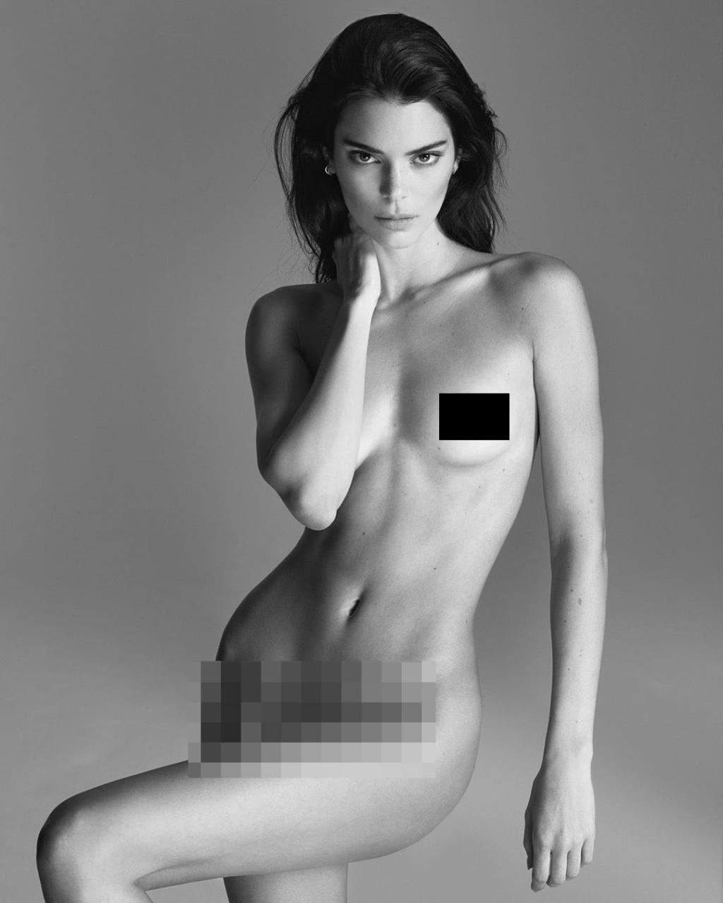 Kendall Cenner türk fotoqraf üçün lüt soyundu - 5 milyonluq FOTO