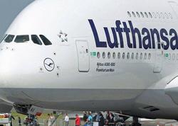 """""""Lufthansa"""" Qahirəyə uçuşları dayandırdı"""