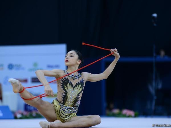 Azərbaycan gimnastı Dünya Çempionatının gümüş və bürünc medallarını qazanıb