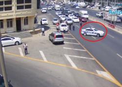 Bakıda yol polisi doğum gününə 1 gün qalmış ölümlə üzləşən uşağı xilas etdi - VİDEO