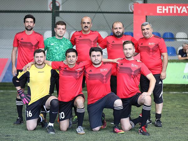 """Media nümayəndələri arasında keçirilən """"I ƏKİNÇİ KUBOKU"""" mini futbol turniri başa çatıb"""