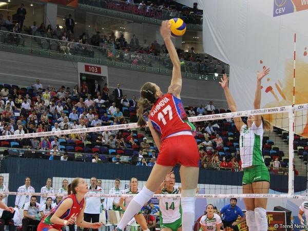 Voleybol yarışlarının birinci gününün sonuncu oyunlarında Belçika və İtaliya komandaları fərqləniblər