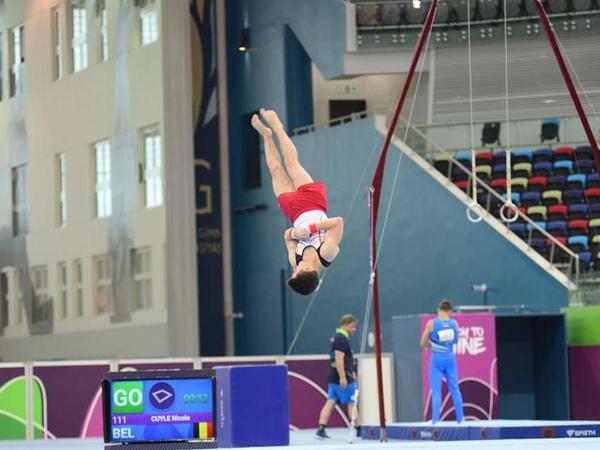 """""""EYOF Bakı-2019"""": İdman gimnastikası yarışlarından maraqlı anlar - FOTO"""