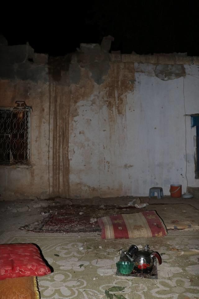 Üstünə raket düşən evin FOTOları - 6 nəfər xəsarət alıb