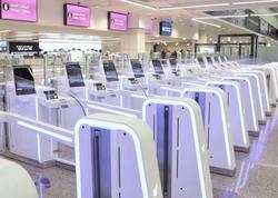 """Dubay aeroportundakı """"ağıllı tunel""""dən 20 mindən çox sərnişin keçib"""
