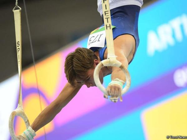 EYOF Bakı 2019: kişilər arasında idman gimnastikası yarışlarının finalçıları