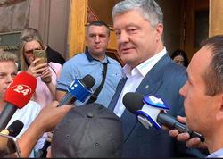 Poroşenko Dövlət İstintaq Bürosunda dindirilir