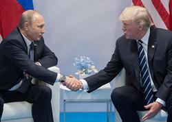 Tramp və Putin arasında telefon danışığı olub