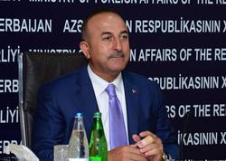 """Çavuşoğlu: """"Bakı-Tbilisi-Qars Asiya üçün """"Avropaya pəncərə""""dir"""""""
