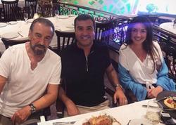 Səfurə və əri məşhur aktyorla bir arada - FOTO
