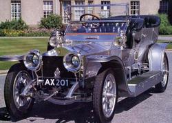 İlk Rolls-Royce Silver Ghost rekord qiymətə satılıb - FOTO