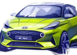 Hyundai şirkəti üçüncü nəsil i10 hetçbekinin ilk tizerini dərc edib - FOTO