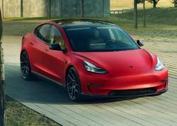 Novitec atelyesi Tesla Model 3 elektrokarına əl gəzdirib - VİDEO - FOTO
