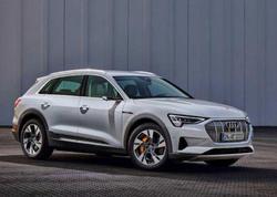 Audi e-tron modelinin baza variantı təqdim edilib - FOTO
