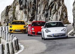 Porsche GT3 ailəsinin 20 illik yubileyini qeyd edir - FOTO