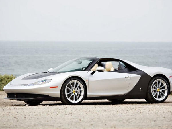Unikal Ferrari rodsteri satışa çıxarılıb - FOTO