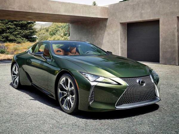 Lexus Inspiration seriyasından olan LC 500 kupesini nümayiş etdirib - FOTO
