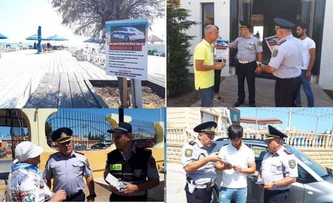 Yol polisi aksiya keçirdi: ÇƏKƏLƏK xəbərdarlığı - FOTO