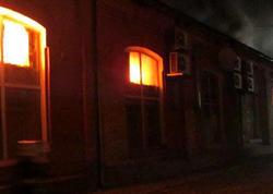 """Ukraynada hotel yandı - <span class=""""color_red""""> 8 ölü - FOTO</span>"""