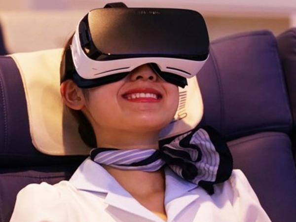 """Biznes klass"" uçuşlarında virtual reallıq"