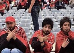 """İranda süni saqqal yapışdıran 6 qız cəza alacaq - <span class=""""color_red"""">Futbol sevgisi baha başa gəldi</span>"""