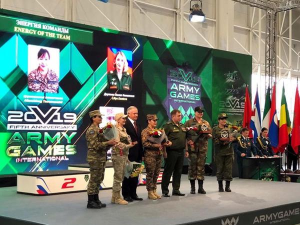 """""""Beynəlxalq Ordu Oyunları - 2019"""" yarışlarında hərbi qulluqçularımız mükafatlandırılıb - FOTO"""