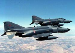 Türkiyə təyyarələri İraqın şımalında PKK mövqələrini bombalayıb