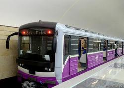 Bakı metrosunda qatarların intervalında fasilə yaranıb