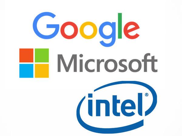 Google, Microsoft və Intel şirkətləri birləşdilər
