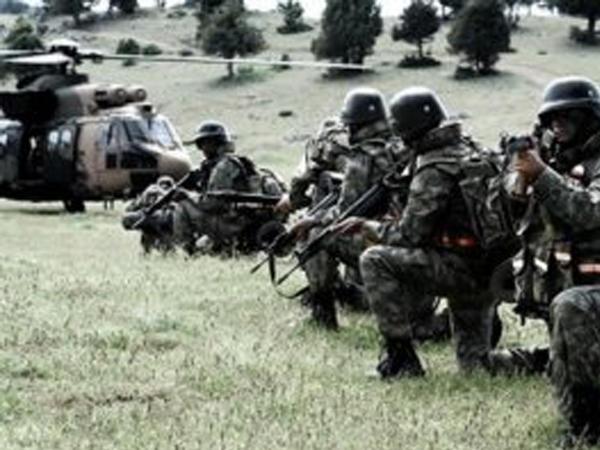 """Türkiyə İraqda """"Pəncə- 3"""" əməliyyatına başladı"""