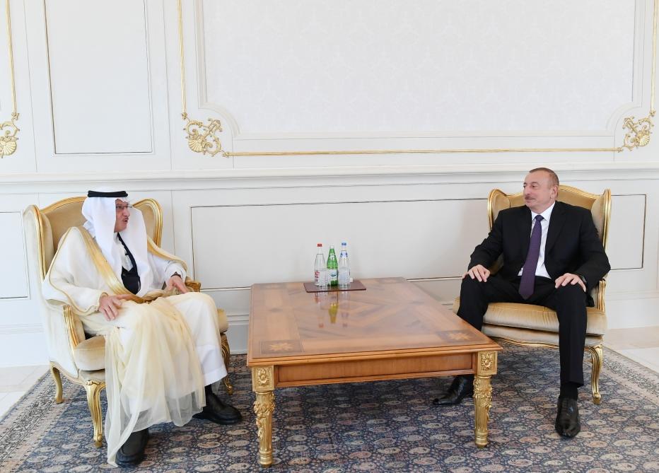 Prezident İlham Əliyev İslam Əməkdaşlıq Təşkilatının Baş katibini qəbul edib