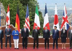 G7 sammitinin rəsmi açılışı olub