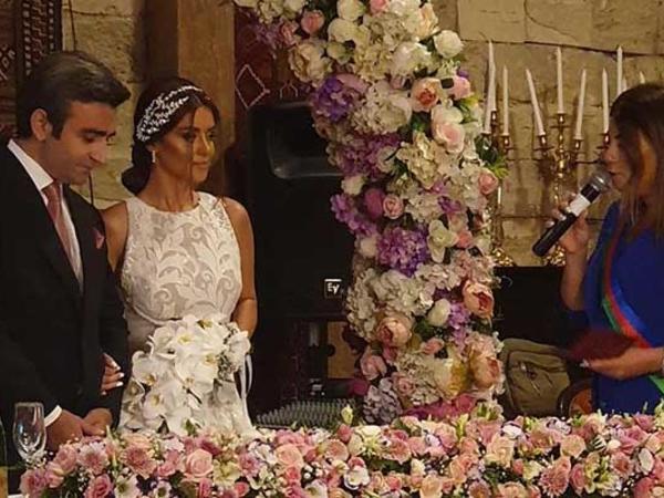 Vaqif Aydınoğlu ikinci dəfə evləndi - FOTO