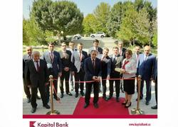 Kapital Bank Naxçıvandakı filiallarını yeniləyir