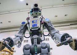 Qədəmlərin mübarək... Rusiyanın ilk insanabənzər robotu kosmosa köçür