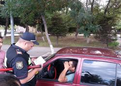 Nəsimi polisi 161 sürücünü saxladı - FOTO