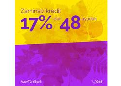 """Azər Türk Bank """"Bu fəsil istədiyini al!"""" kampaniyasına start verdi"""