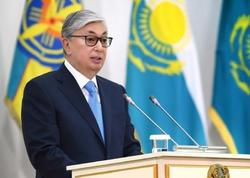 Qazaxıstan Prezidenti ilk dəfə xalqa müraciət etdi