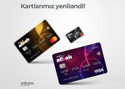 """""""Unibank""""ın Albalı Plus kartları yeniləndi"""