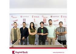 Kapital Bank İT sahəsi üzrə gənc mütəxəssisləri inkişaf etdirir