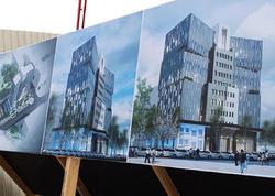 """Nazirliyin yeni binası belə olacaq - <span class=""""color_red"""">FOTO</span>"""
