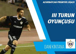 """""""Qarabağ""""ın futbolçusu turun ən yaxşısı oldu"""