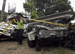 """6 avtomobil toqquşdu, biri aşdı - <span class=""""color_red"""">7 ÖLÜ</span>"""