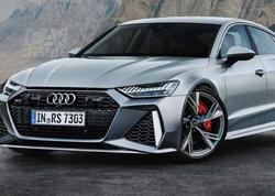 Audi RS7 Sportback Frankfurtda debüt edəcək - FOTO