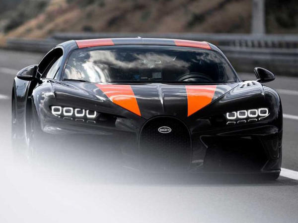 Bugatti Chiron 515 km/saata qədər sürətlənə bilər - VİDEO - FOTO