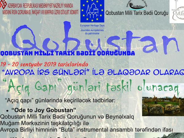 """Qobustan Milli Tarix-Bədii Qoruğunda """"Açıq qapı"""" günləri olacaq - FOTO"""
