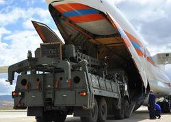 S-400 raketdən müdafiə sisteminin sonuncu partiyası Türkiyəyə çatıb