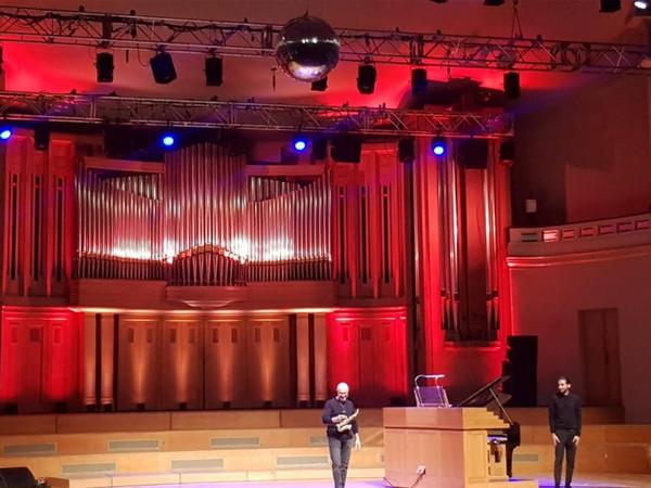 Brüsseldə İsfar Sarabski və Rain Sultanovun konserti olub - FOTO