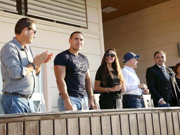 Heydər Əliyev Fondunun vitse-prezidenti Leyla Əliyeva Bakıda 7-ci arena polo üzrə dünya kubokunun final görüşünə baxıb - FOTO